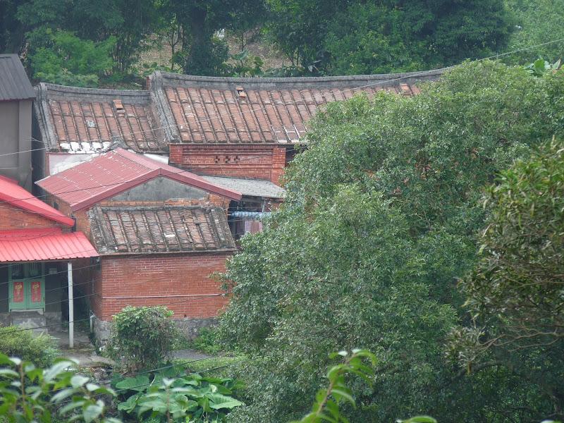 En marchant dans Yangminshan