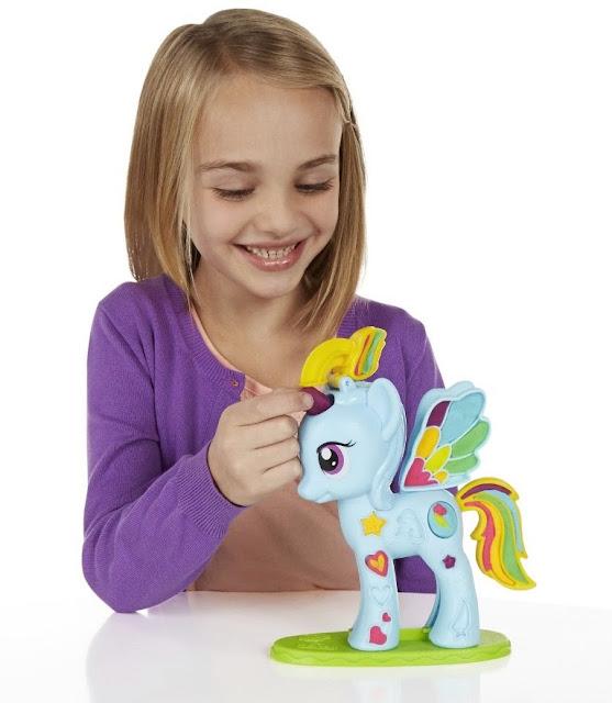 Thiết kế đặc sắc của Bột nặn Trang trí My Little Pony Play-Doh B0011