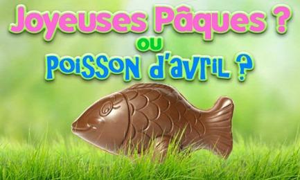 poisson de pâques d'avril