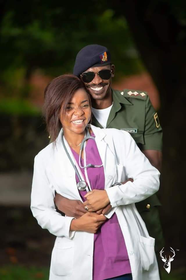 Beautiful Pre-Wedding Photos of a Soldier and Female Doctor