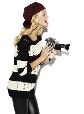 Erin Heatherton - BlancoSuite, campaña otoño invierno 2012