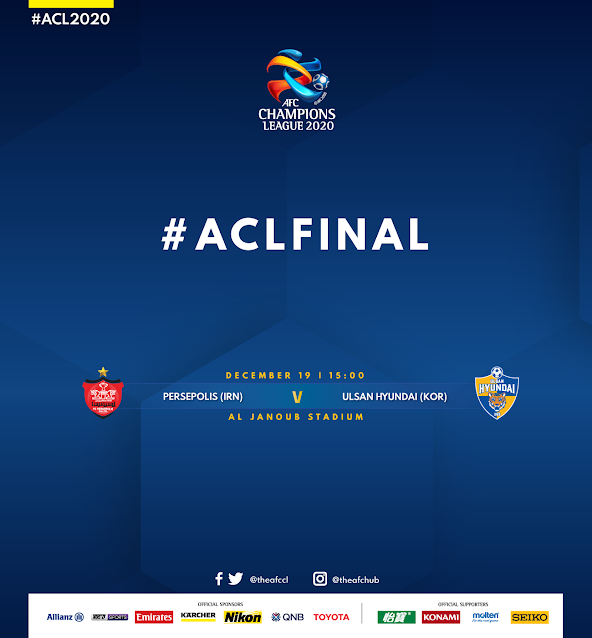 Live Streaming Persepolis vs Ulsan Hyundai FC 19.12.2020.