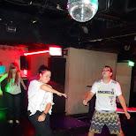 Jasmine & Max pulling some moves in Roppongi, Tokyo, Japan