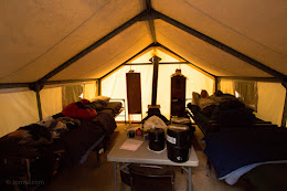 Tent life at Vogelsang