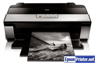 How to reset Epson R2880 printer