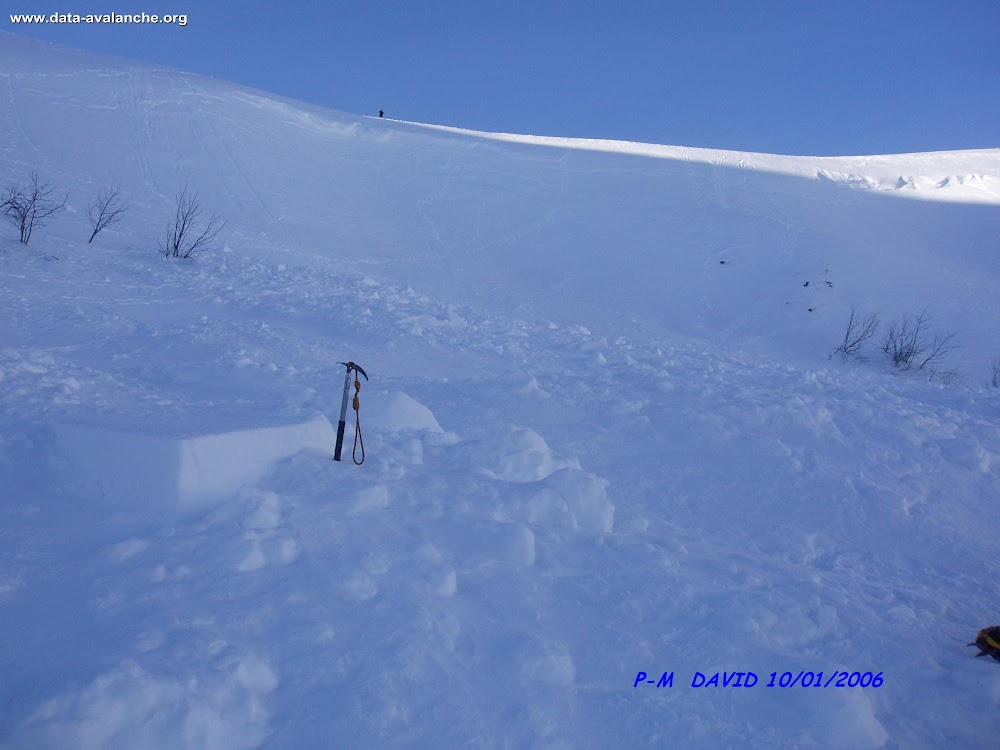 Avalanche Vosges, secteur Hohneck, Cirque du Wormspel - Photo 1 - © David Pierre-Marie