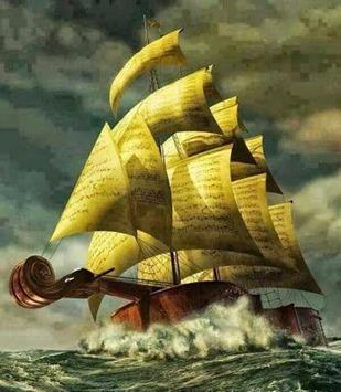 Violin ship