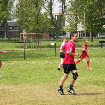 Voetbalwedstrijd leerlingen - leerkrachten