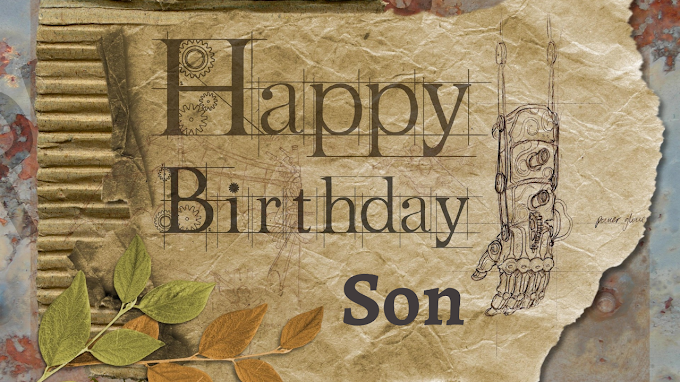Beautiful Birthday Wishes For Son & WhatsApp Status for Son