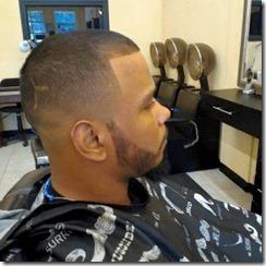 Mens fade haircut 2