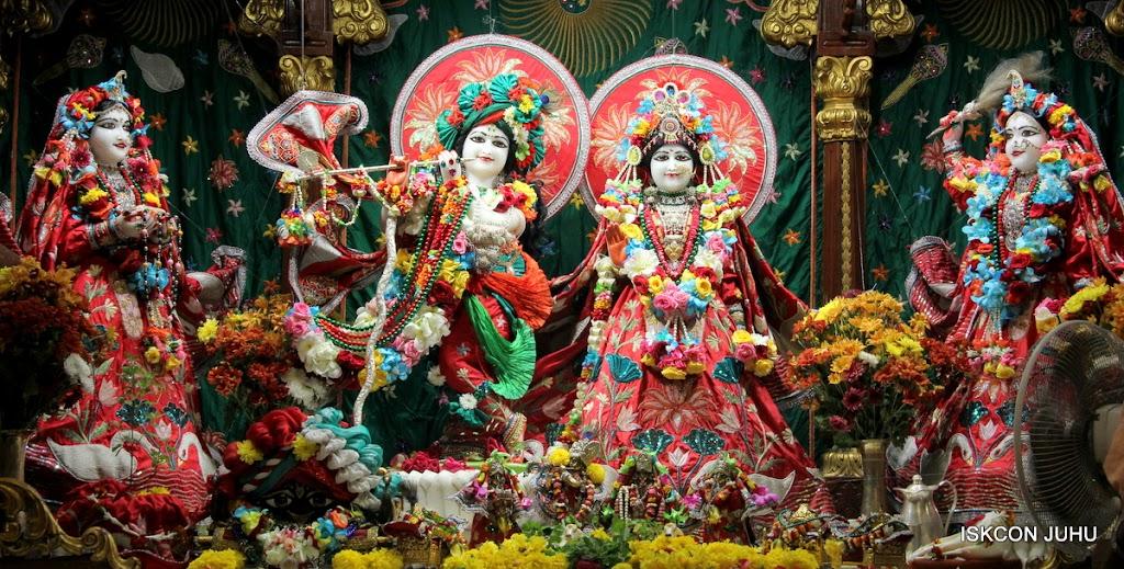 ISKCON Juhu Sringar Deity Darshan on 28th Aug 2016 (2)