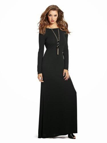 best dress for fall  GUESS by Marciano Women s Cora Zipper Maxi ... ffa55153a