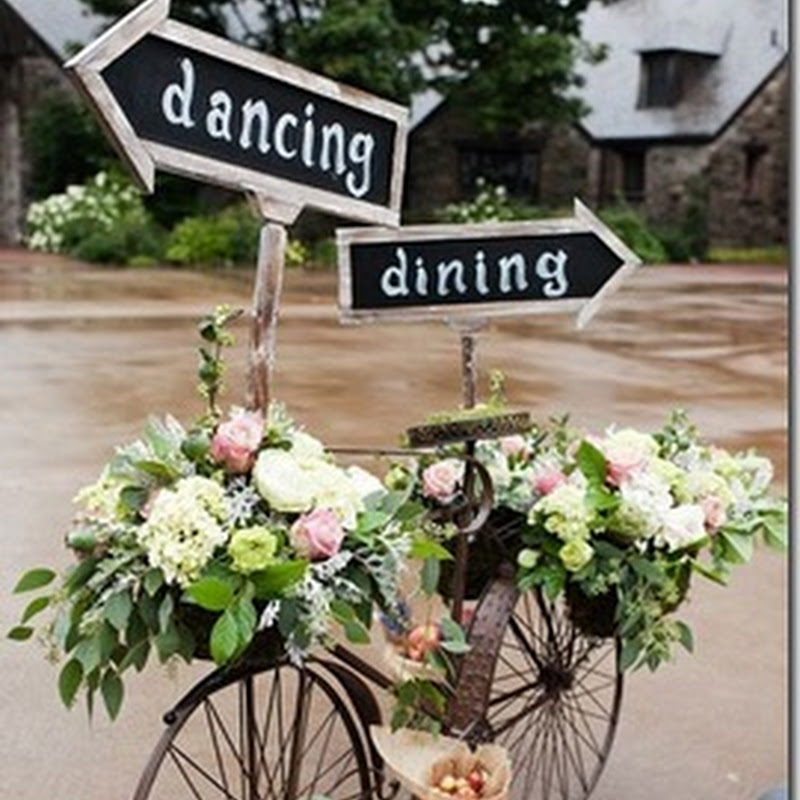 Imágenes y fotos de bicicletas con flores