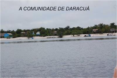 A comunidade de Daracuá