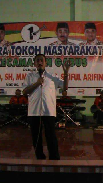 Temu Tokoh Se - Kecamatan Gabus Bersama Paslon Haryanto-Arifin