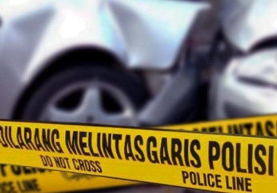 Diduga Ngantuk, Camry Tabrak Kendaraan Dinas TNI dan Polri di Bandara