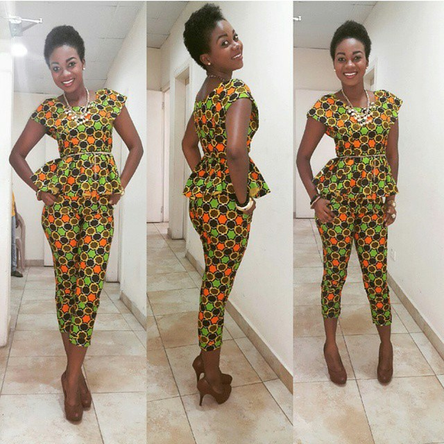 ANKARA TOP AND TROUSER STYLE FOR LADIES 2017 - Styles Art