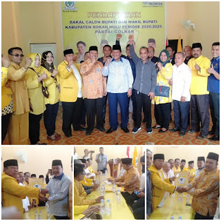 Hamulian Mengaku Optimis Akan Direkomendasikan Partai Golkar Sebagai Cabup Tahun 2021-2026
