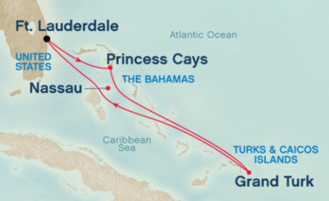 Yellow Fish Cruises Cruise 3 5 Nights To Princess Cays And Grand Turk
