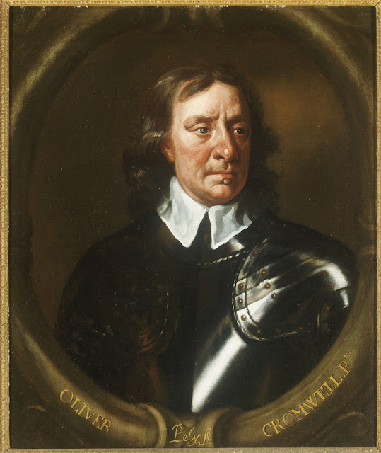 Peter Lely - Portrait of Oliver Cromwell