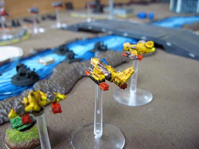 Karl's Flyboyz hit Scarik's big gunz.