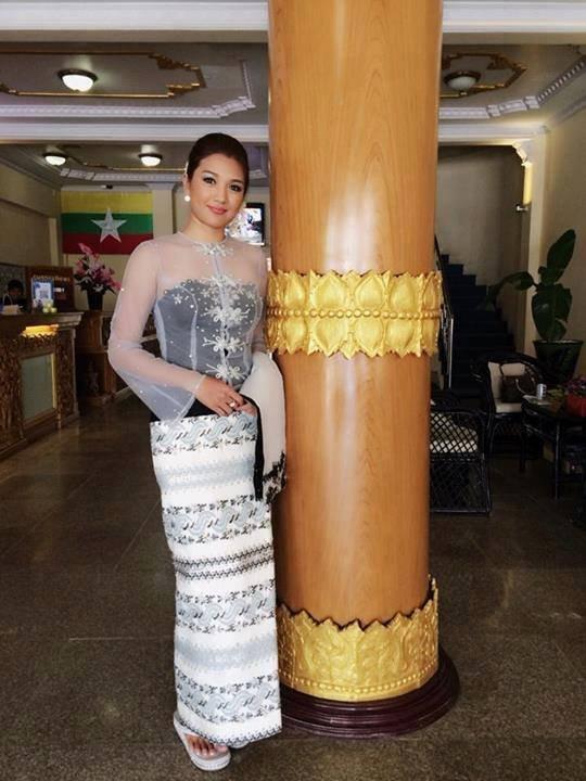 Myanmar dress fashion 2018 women