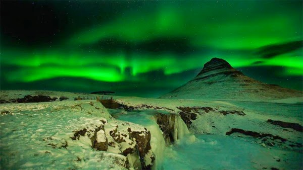 Aurora boreal (Islandia)