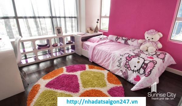 Phòng ngủ căn hộ Sunrise City quận 7