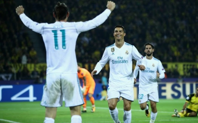 Video: Borussia Dortmund 1 – 3 Real Madrid [Champions League] Highlights 2017/18