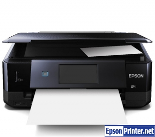 Download Epson XP-720 resetter software