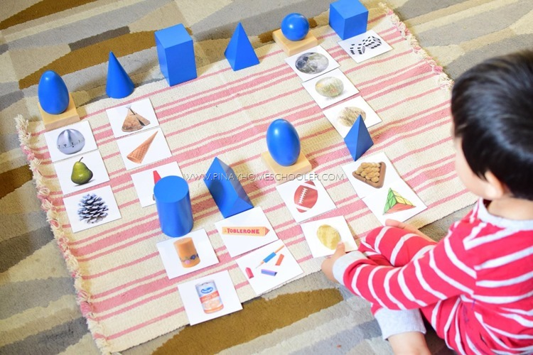 Sorting Real-Life Objects with Montessori Geometric Solids