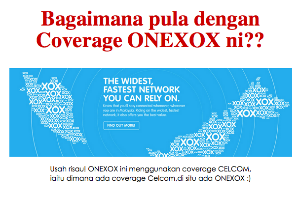 Semak Coverage ONEXOX