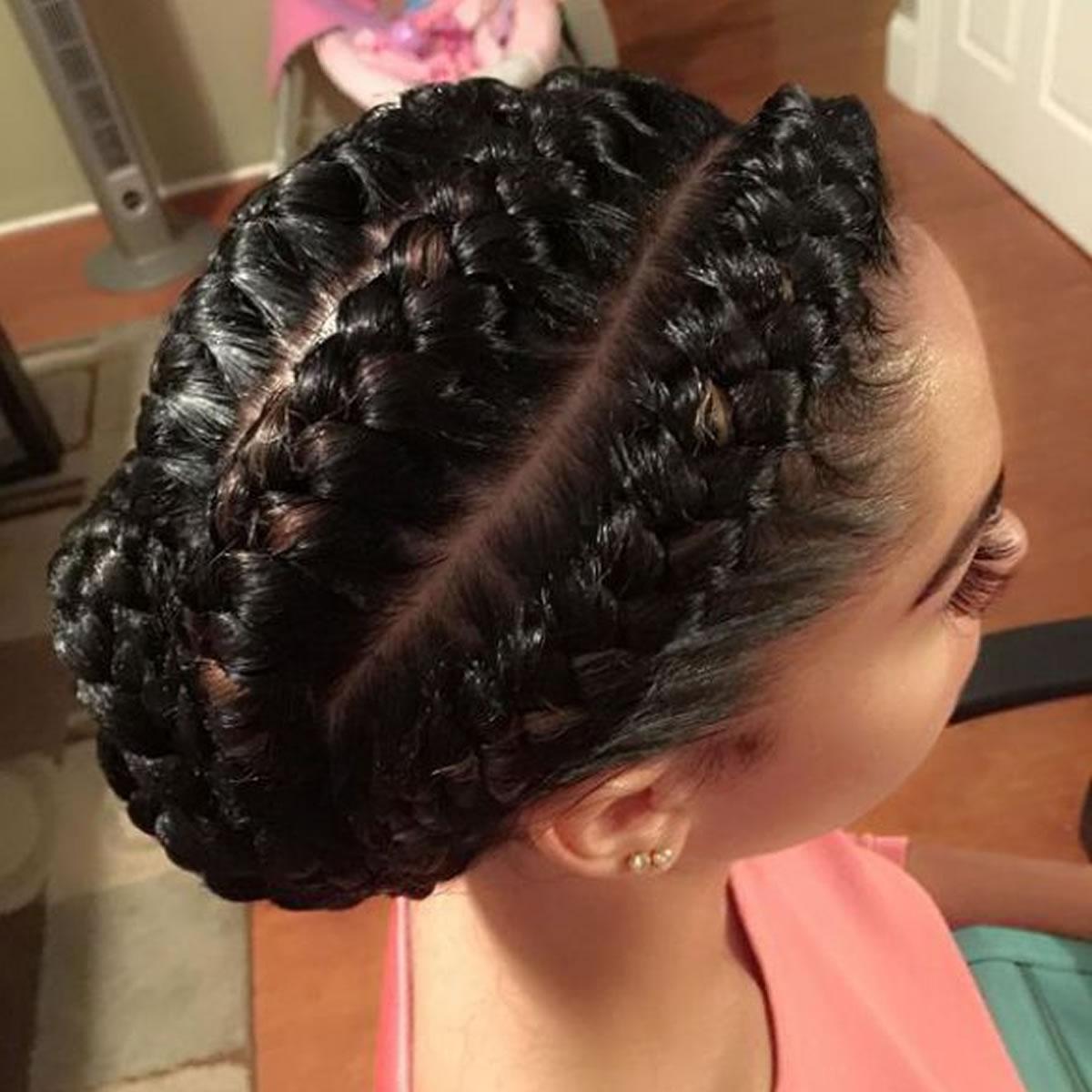 Latest 2019 Ghana braids hairstyles for black women 3