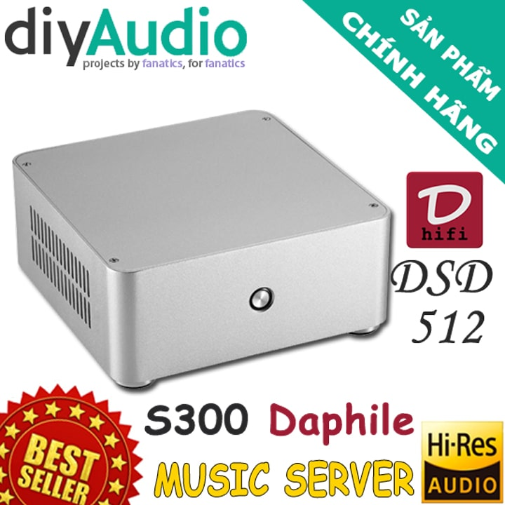 muisc server s300 daphile