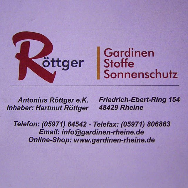 Gardinen Rheine | Pauwnieuws