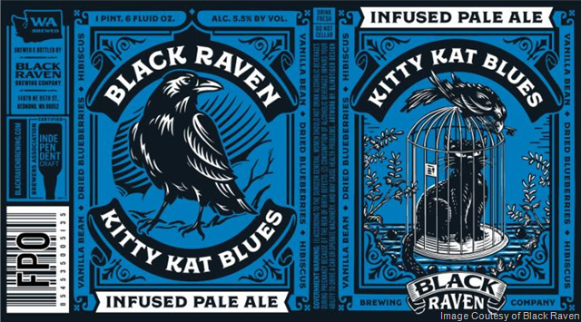 Black Raven Kitty Kat Blues Returns In Cans 3/16