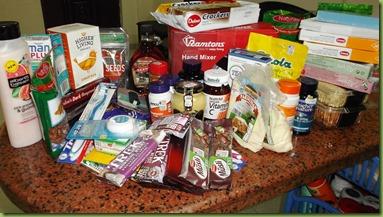 Stuff purchased in Nairobi