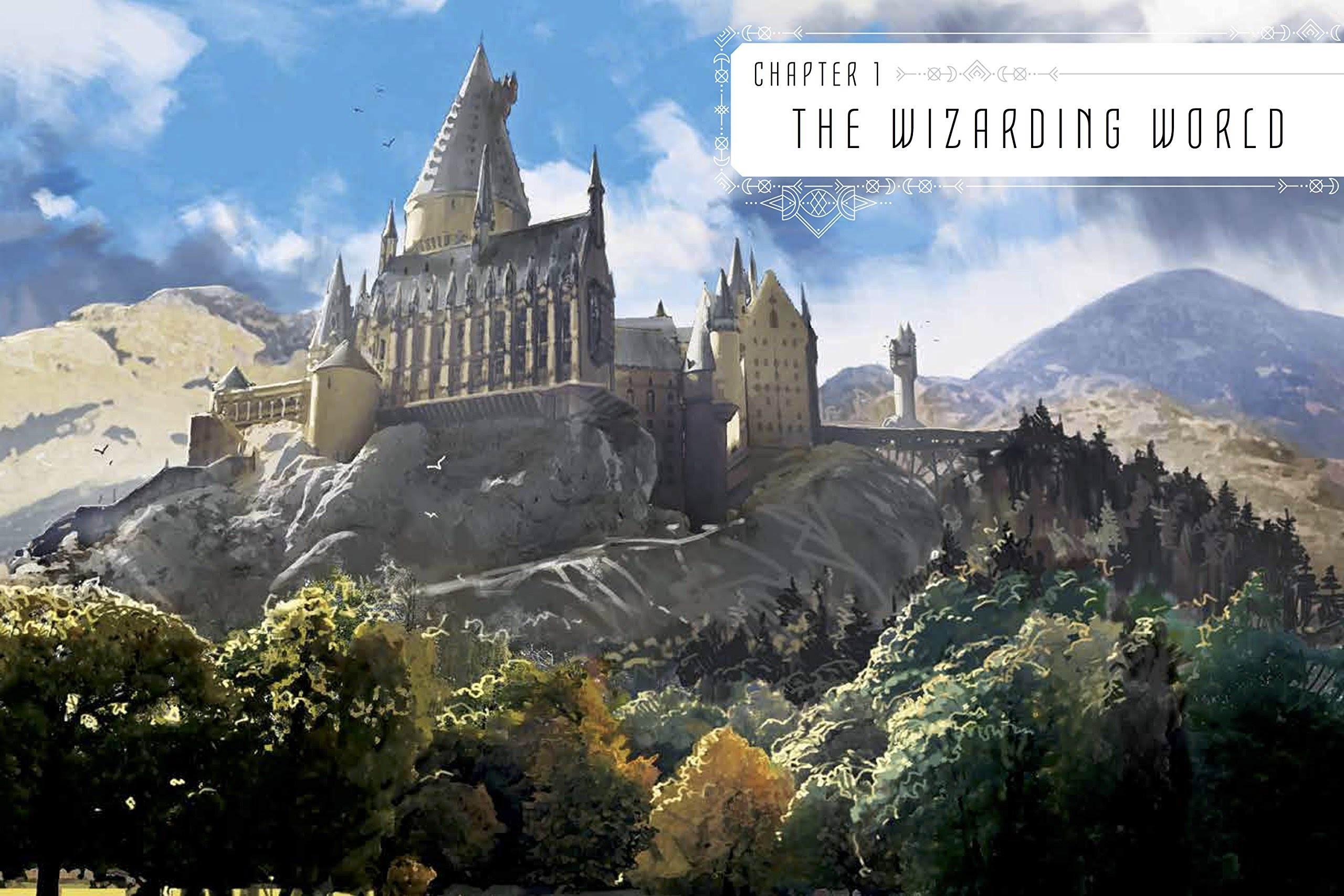 The Art of Harry Potter: hogwarts castle