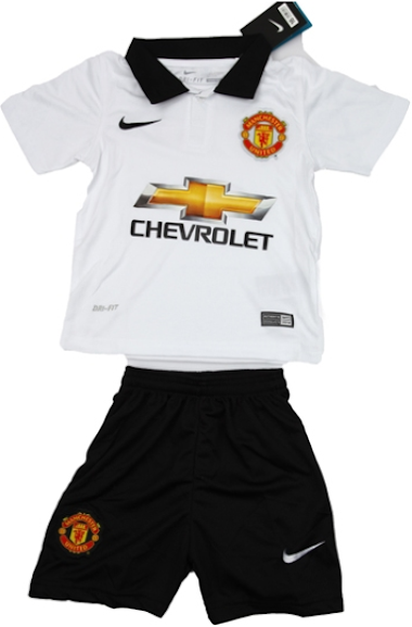 Jersey Kids Manchester United Away 2014-2015