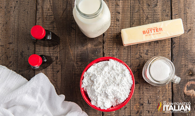homemade frosting ingredients