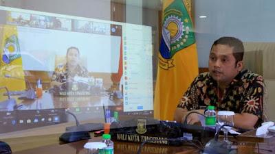 WaliKota Tangerang Imbau Tenaga Pengajar Sosialisasikan Prokes Dalam Pelaksanaan PJJ