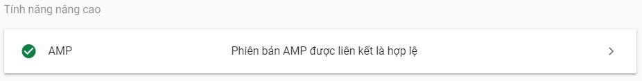 Phiên bản AMP được liên kết là hợp lệ