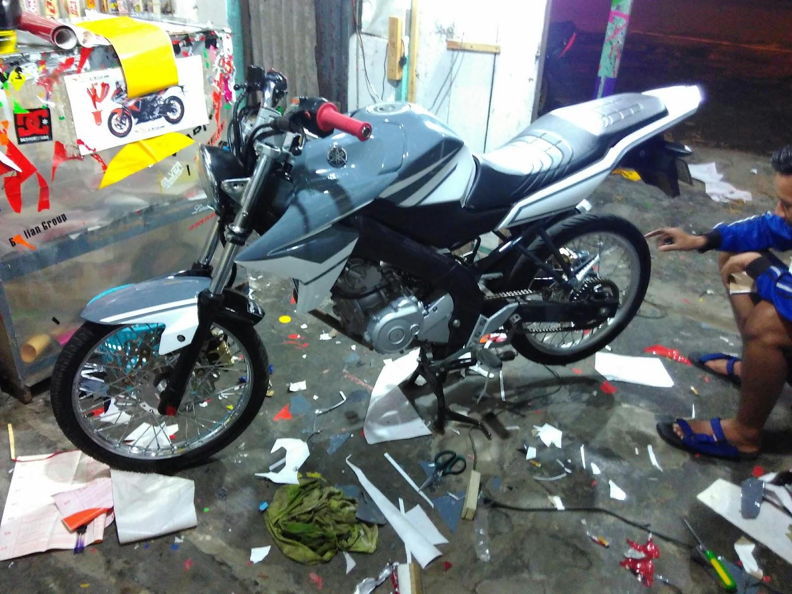 810 Gambar Cutting Sticker Motor Vixion HD
