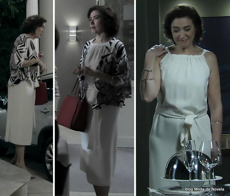 moda da novela Império, look da Maria Marta dia 13 de outubro