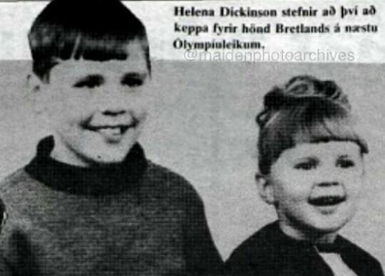 photo of Bruce and Helena Dickinson