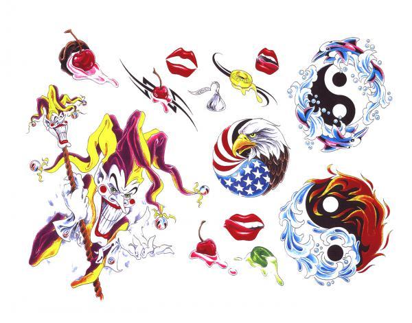 Design Of Magick Tattoo 6, Fantasy Tattoo Designs