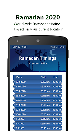 Ramadan Calendar 2020, Prayer Timing, Quran, Qibla screenshot 10