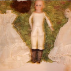 Restored Gleaves Doll found at The Willows.