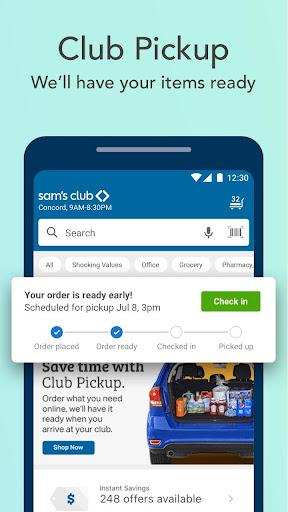 Sam's Club android2mod screenshots 5