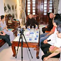 [DCQD-1102] Gia đình cô Liên Phước thỉnh Thầy tại nhà riêng (27/09/2011)